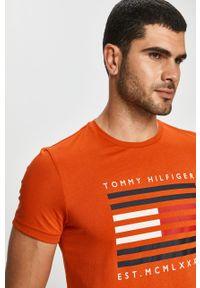 T-shirt TOMMY HILFIGER casualowy, na co dzień