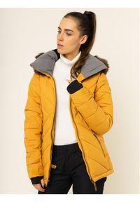 Żółta kurtka sportowa Roxy snowboardowa