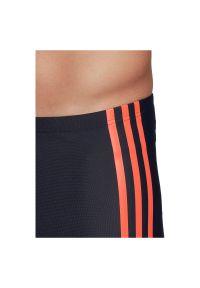 Adidas - Kąpielówki męskie adidas Semi 3-Stripes Swim Briefs FJ4738. Materiał: nylon, tkanina, materiał, elastan. Długość: długie #3
