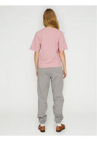 ROTATE Spodnie dresowe Mimi RT473 Szary Loose Fit. Kolor: szary. Materiał: dresówka
