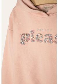 Różowa bluza Kids Only z aplikacjami, na co dzień #3