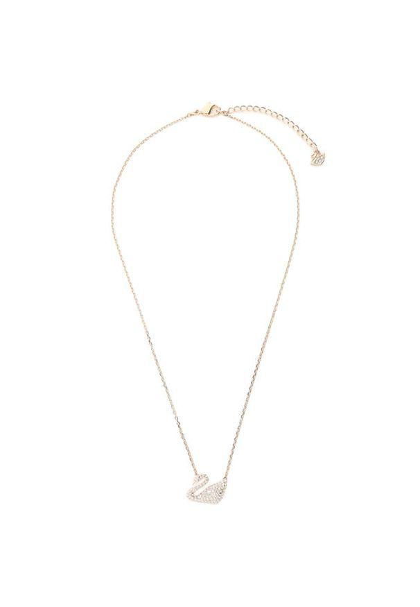 Swarovski Naszyjnik Swan Necklace 5121597 Złoty. Materiał: złote. Kolor: złoty
