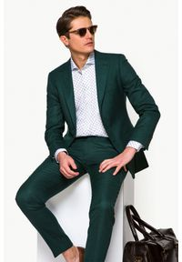 Zielony garnitur Lancerto gładki