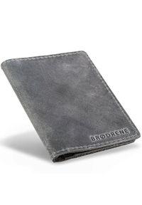 Szary portfel BRODRENE
