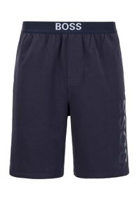 BOSS - Boss Szorty piżamowe Idenity 50449829 Granatowy Regular Fit. Kolor: niebieski