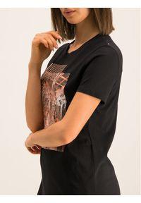 Czarny t-shirt Sportmax Code