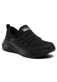Czarne buty do fitnessu skechers