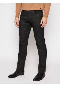 Pierre Cardin Spodnie materiałowe 30917/000/4791 Czarny Modern Fit. Kolor: czarny. Materiał: materiał
