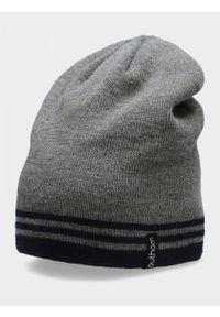 Szara czapka zimowa outhorn melanż #2