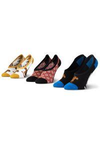Vans Zestaw 3 par stopek dziecięcych Tiger Floral Canoodles VN0A4S7R4481 Kolorowy. Wzór: kolorowy