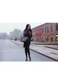 Czarne kozaki Zapato street, na jesień, wąskie