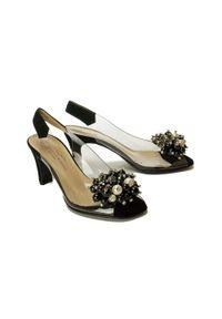 Czarne sandały Brenda Zaro