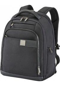 Czarny plecak na laptopa TITAN
