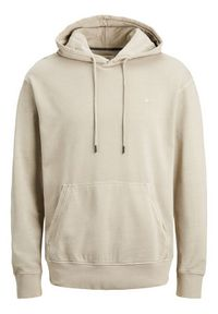 Jack & Jones - Jack&Jones Bluza Washed 12174457 Beżowy Relaxed Fit. Kolor: beżowy