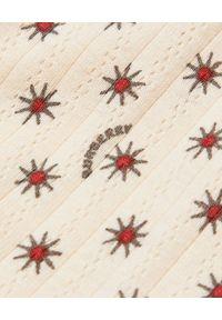 BURBERRY CHILDREN - Śpioszki w gwiazdki 0-2 lata. Kolor: brązowy. Materiał: materiał. Wzór: aplikacja