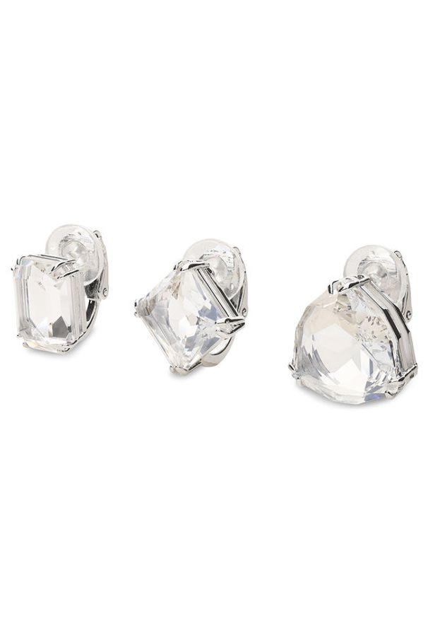 Swarovski Zestaw 3 kolczyków Millenia 5602413 Srebrny. Materiał: srebrne. Kolor: srebrny