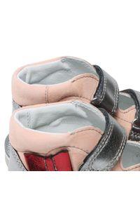 Bartek - Sandały BARTEK - 16686-979 Beż. Kolor: różowy. Materiał: skóra, zamsz. Sezon: lato