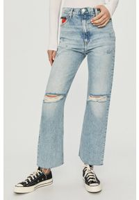 Niebieskie jeansy bootcut Tommy Jeans