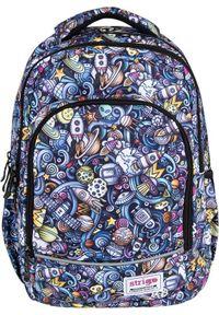 Plecak Strigo w kolorowe wzory