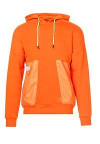 Pomarańczowa bluza Born2be