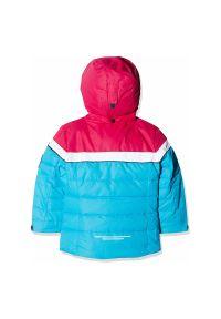 Kurtka narciarska dla dzieci CMP Girl Jacket Snap Hood CMPKUN0051. Kolor: niebieski. Materiał: poliester, materiał, syntetyk. Sezon: zima. Sport: narciarstwo