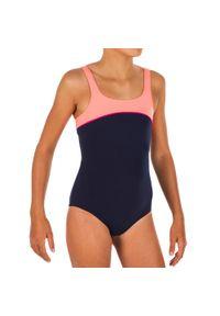 NABAIJI - Strój jednoczęściowy pływacki Taïs dla dzieci. Kolor: wielokolorowy, różowy, niebieski, czerwony. Materiał: poliamid, materiał, poliester