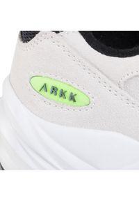 Szare buty sportowe ARKK Copenhagen na co dzień, z cholewką