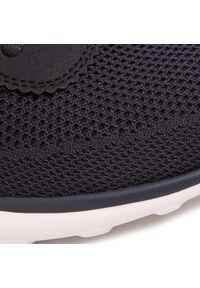 Czarne sneakersy skechers z cholewką, na co dzień #8