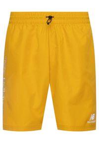 New Balance Szorty sportowe Athletic Wind MS01511 Żółty Athletic Fit. Kolor: żółty