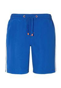 Cellbes Kąpielówki jasnoniebieski male niebieski L. Kolor: niebieski. Wzór: paski
