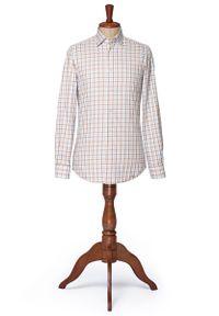 Koszula Lancerto vintage, z włoskim kołnierzykiem