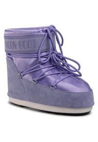 Fioletowe śniegowce Moon Boot