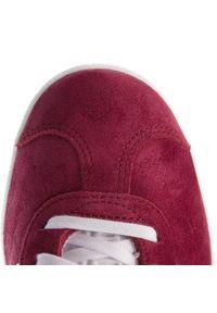 Adidas - Buty adidas - Gazelle B41645 Cburgu/Ftwwht/Ftwwht. Zapięcie: sznurówki. Kolor: czerwony. Materiał: skóra ekologiczna, skóra, zamsz. Szerokość cholewki: normalna. Sezon: lato. Model: Adidas Gazelle