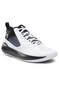 Białe buty do koszykówki Under Armour