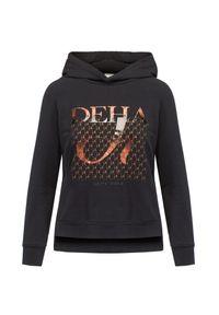Deha - Bluza z kapturem DEHA ACTIVE. Typ kołnierza: kaptur. Materiał: włókno, bawełna. Wzór: nadruk