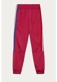Spodnie dresowe adidas Originals gładkie, na co dzień, casualowe