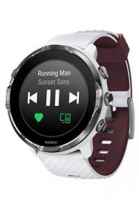 Biały zegarek SUUNTO cyfrowy, sportowy