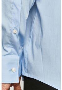 Niebieska koszula Hugo na co dzień, z długim rękawem, z klasycznym kołnierzykiem