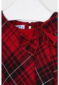 Czerwona sukienka Mayoral mini, na co dzień, casualowa
