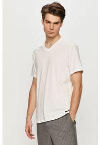 Biały t-shirt Ted Baker casualowy, na co dzień