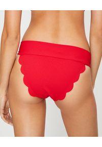 MARYSIA SWIM - Czerwony dół od bikini Santa Clara. Kolor: czerwony. Materiał: materiał
