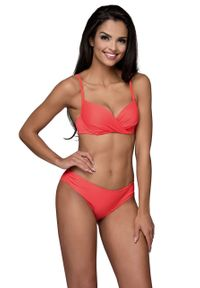 Pomarańczowy strój kąpielowy dwuczęściowy Lorin