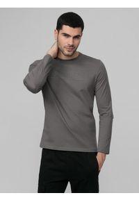 Szara koszulka z długim rękawem 4f