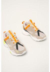 Wielokolorowe buty sportowe Reebok Classic na sznurówki, z cholewką