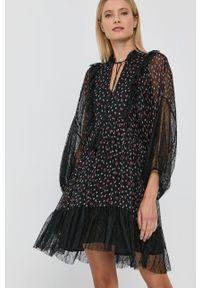 Nissa - NISSA - Sukienka. Materiał: tkanina, koronka. Długość rękawa: długi rękaw