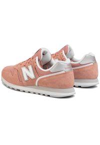 Różowe buty sportowe New Balance New Balance 373, z cholewką, na płaskiej podeszwie