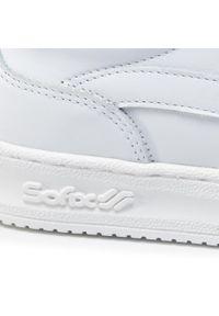 Białe sneakersy Sofix z cholewką, na co dzień