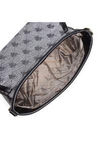 U.S. Polo Assn - Torebka U.S. POLO ASSN. - Lady Lake S Flap Bag BEUKG5230WJP000 Black. Kolor: szary. Materiał: skórzane #6