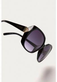 Guess - Okulary GF0373.01B. Kształt: okrągłe. Kolor: czarny