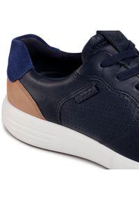 Niebieskie sneakersy ecco